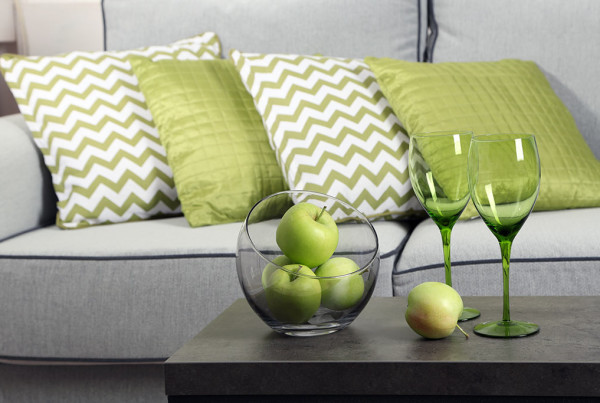 2017 Interior Design trends green Pantone